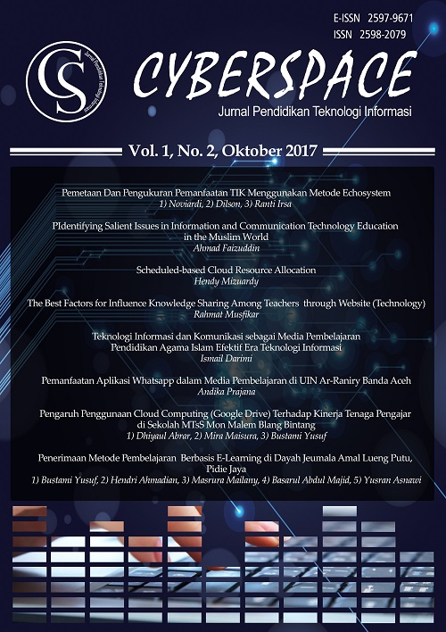 Volume 1 No 2 Oktober 2017